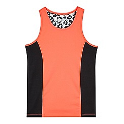 bluezoo - Girls' bright pink vest top