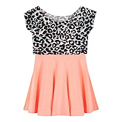 bluezoo - Girls' multi-coloured animal print dress