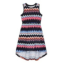 bluezoo - Girls' multicoloured aztec print dress