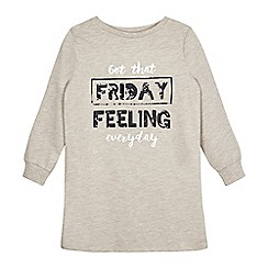 bluezoo - Girls' 'Friday Feeling' sequin sweater dress