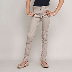 bluezoo - Girl's grey super skinny jeans