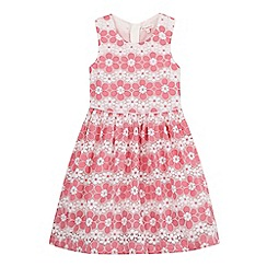 bluezoo - Girls' floral lace layered dress