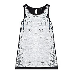 Star by Julien Macdonald - Girls' black two-way sequinned dress
