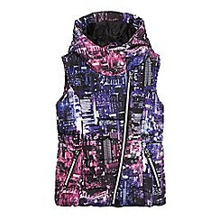 Pineapple - Girls' multi-coloured city scape gilet