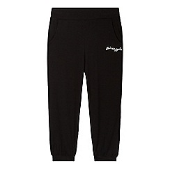 Pineapple - Girls' black harem trousers