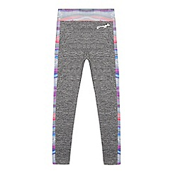 Pineapple - Girls' multi-coloured marble print leggings