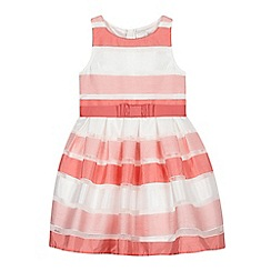 J by Jasper Conran - Girls' pink striped dress
