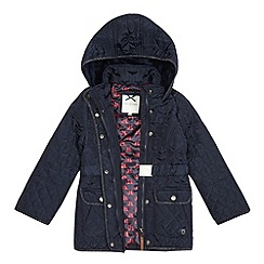 J by Jasper Conran - Girls' quilted bow coat
