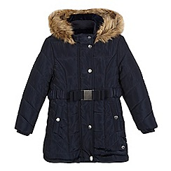 J by Jasper Conran - Girls' navy padded coat