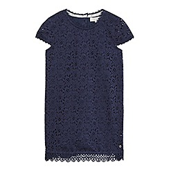 J by Jasper Conran - Girls' navy lace shift dress
