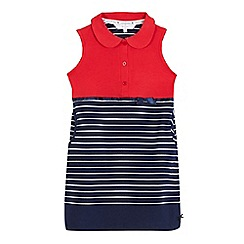 J by Jasper Conran - Girls' red striped tennis dress