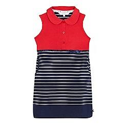 J by Jasper Conran - Girls' red striped tennis dress