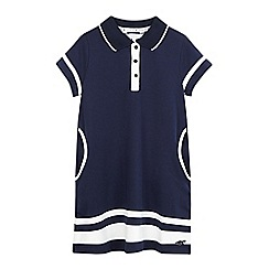 J by Jasper Conran - Girls' blue polo dress