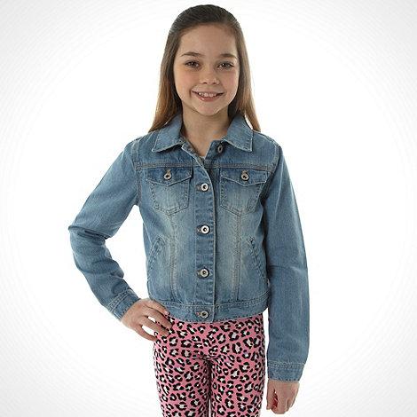 bluezoo - Girl+s blue denim jacket