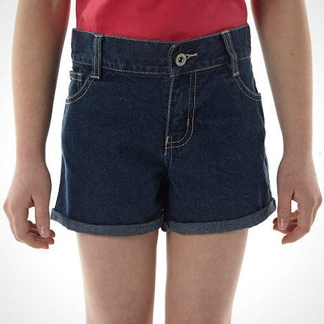 bluezoo - Girl+s blue denim shorts