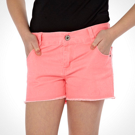bluezoo - Girl+s pink coloured shorts
