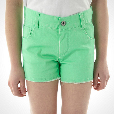 bluezoo - Girl+s green coloured shorts