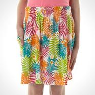 Girl's multi printed skirt