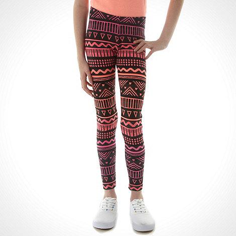 bluezoo - Girl+s ombre aztec printed leggings