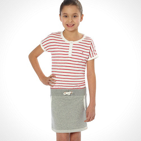 Mantaray - Girl+s red sweat skirt dress
