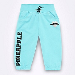 Pineapple - Pineapple girl's aqua cropped jogging bottoms