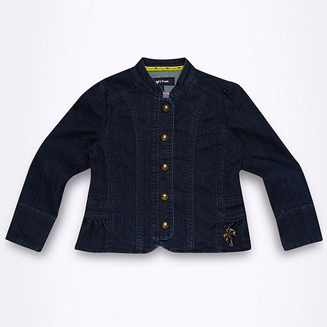 J by Jasper Conran - Designer girl+s blue denim jacket