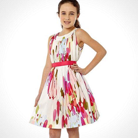 RJR.John Rocha - Designer girls pink party dress