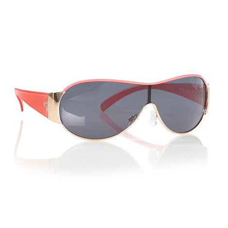 bluezoo - Girls+ coral rounded wrap sunglasses