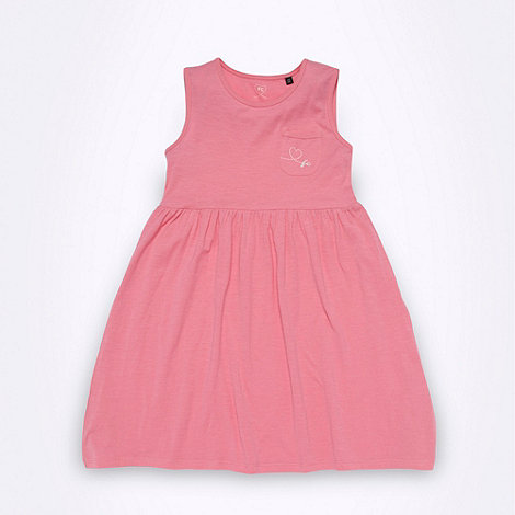 French connection - Girl+s pink jersey skater dress