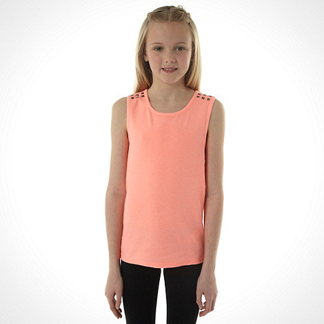 bluezoo - Girl+s pack of two coral vests