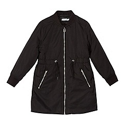 bluezoo - Girls' black padded coat