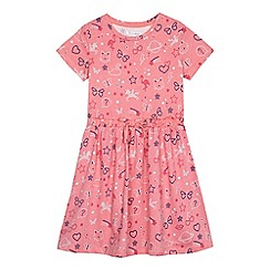 bluezoo - Girls' pink printed dress