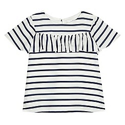 J by Jasper Conran - Girls' off white striped print top