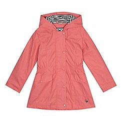 J by Jasper Conran - Girls' pink fisherman coat