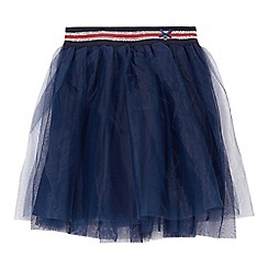 J by Jasper Conran - Girls' navy tulle skirt
