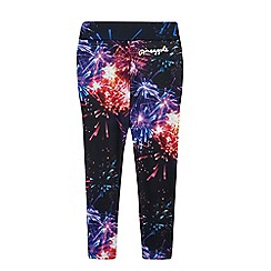 Pineapple - Girls' multi-coloured firework print leggings