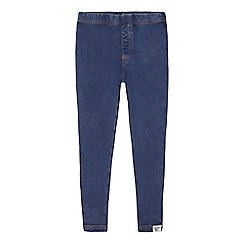 Mantaray - Girls' light blue wash jeggings