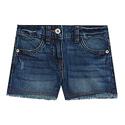 bluezoo - Girls' blue denim shorts