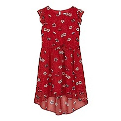 bluezoo - Girls' red printed dress