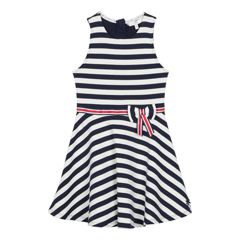 J BY JASPER CONRAN | J by Jasper Conran - Girls' Navy Stripe Ponte Dress | Goxip