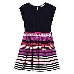 bluezoo - Girls' multi-coloured striped mock dress