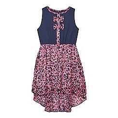 bluezoo - Girls' multi-coloured animal print dress