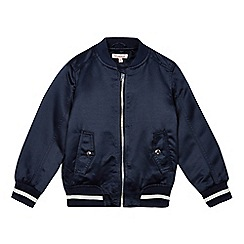 bluezoo - Girls' navy bomber jacket