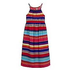 bluezoo - Girls' multi-coloured striped dress