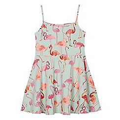 bluezoo - Girls' flamingo print dress