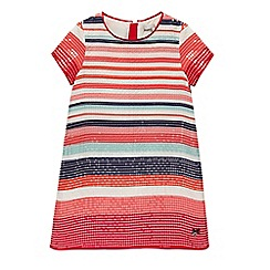 J by Jasper Conran - Girls' multi-colour sequin stripe dress