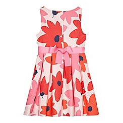 J by Jasper Conran - Girls' pink flower print dress