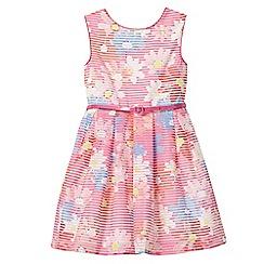 J by Jasper Conran - Girls' pink floral print dress