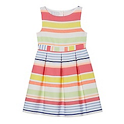 J by Jasper Conran - Girls' multi-coloured striped dress