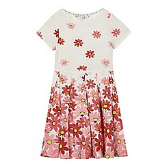 J by Jasper Conran - Girls' pink floral print dress